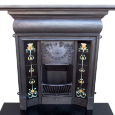 "COMBI192 - Victorian Antique Combination Fireplace (48""H x 46""W)"