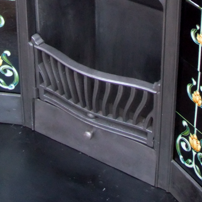"COMBI192 - Victorian Antique Combination Fireplace (48""H x 46""W)"