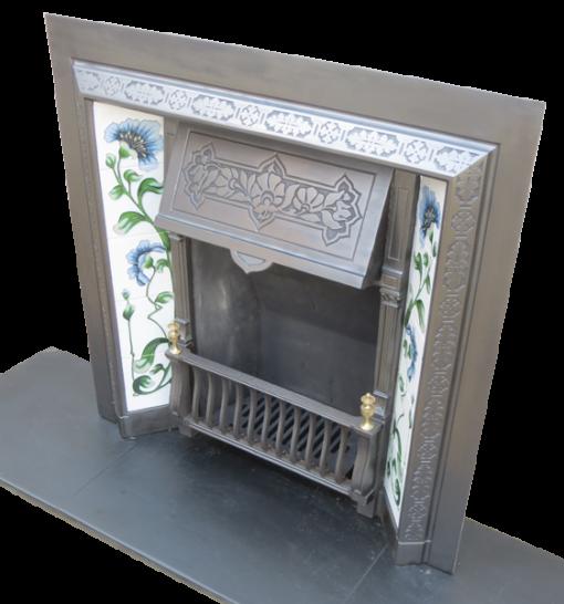 Cast Iron Fireplace Insert Antique