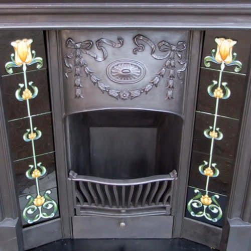 Victorian Antique Combination Fireplace