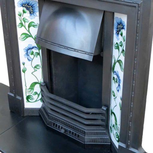 Original Cast Iron Combination Fireplace