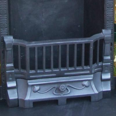 Cast Iron Antique Fireplace Insert