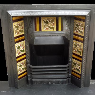 Buy Victorian Cast Iron Fireplace Antique Insert