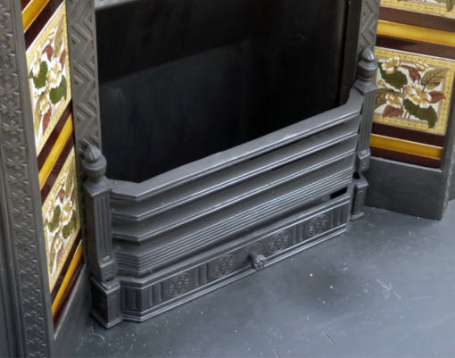 Cast Iron Fireplace Antique Insert
