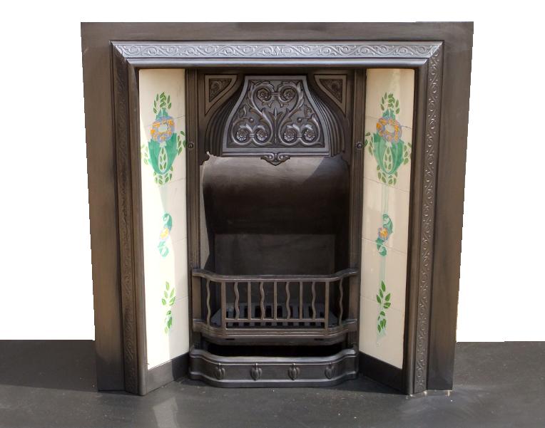 Buy Cast Iron Antique Victorian Fireplace Insert