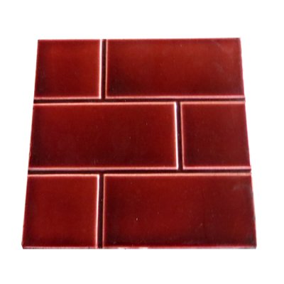 Victorian Red Brick Fireplace Tiles