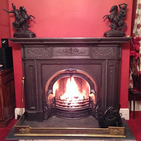 Brian Shaw Fireplace