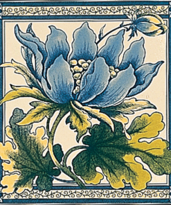 Stovax Peony Fireplace Tile