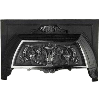 Victorian Cast Iron Fireplace Hood