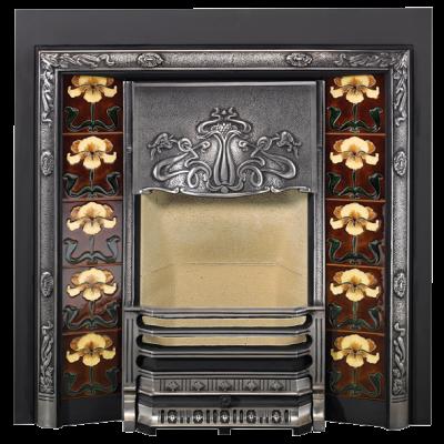 Stovax Yellow Iris Fireplace Tile