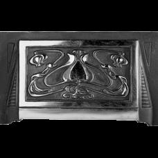Cast Iron Art Nouveau Fireplace Hood (H7)