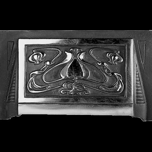 Cast Iron Art Nouveau Fireplace Hood Replacement