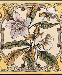 Stovax Windflower Decorated Tile