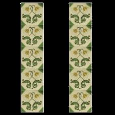 RT043 - Carron Tube Lined Fireplace Tiles (LGC042)