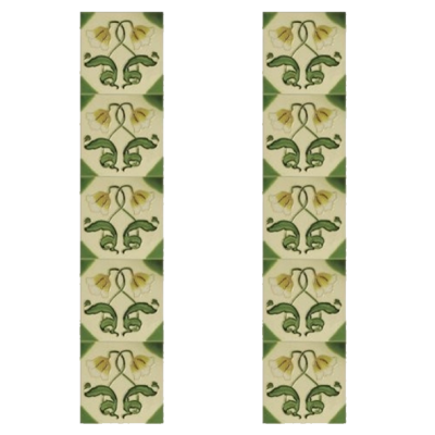 Carron Tubelined Fireplace Tiles LGC042