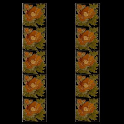 Carron Tubelined Fireplace Tiles LGC093