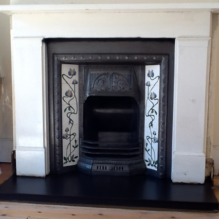 Lucy Clements Fireplace