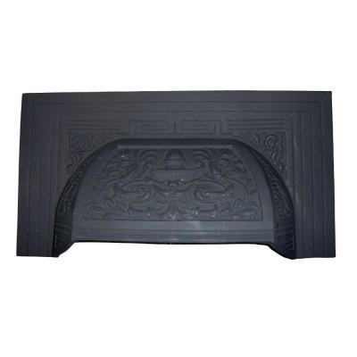 Cast Iron Victorian Fireplace Hood (H16)