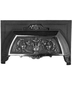 Cast Iron Victorian Fireplace Hood (H5)