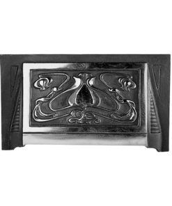 Art Nouveau Fireplace Hood (H7) (Black)