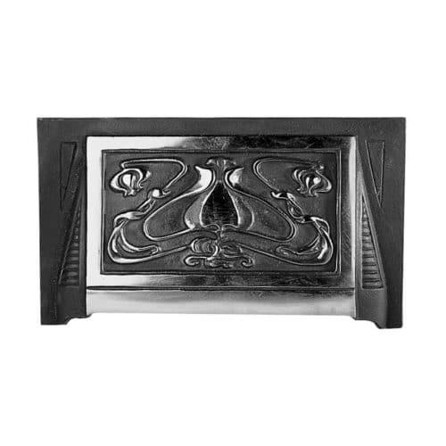 Art Nouveau Fireplace Hood (H7) (Black)