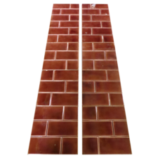 OT186 - Original Edwardian Red Bricked Tiles