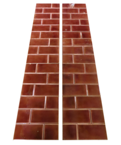 Original Edwardian Red Bricked Tiles