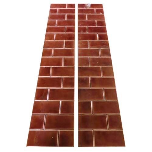 Original Edwardian Red Bricked Tiles