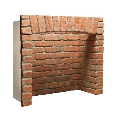 Rustic Arched Brick Chamber (With Front Returns)