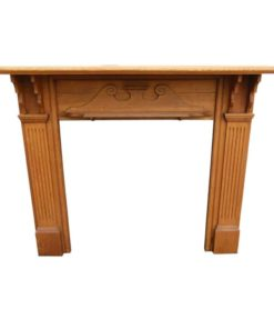 Original Oak Victorian Fireplace Surround