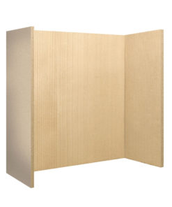 Reeded Vermiculite Fire Board (Natural Colour)