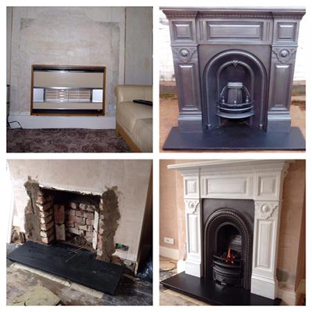 Walsh Fireplace