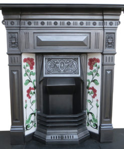 Restored Cast Iron Combination Fireplace