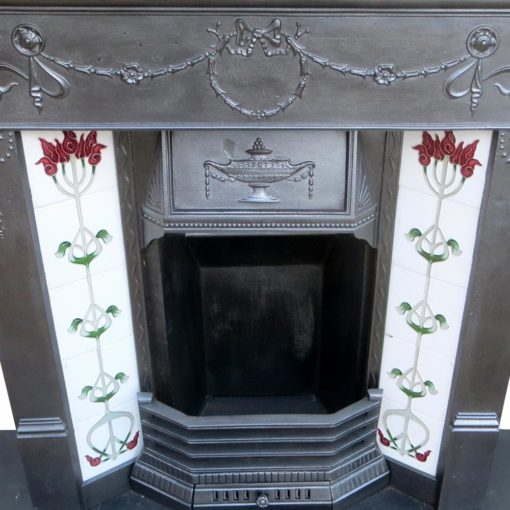 Traditional Cast Iron Combination Fireplace