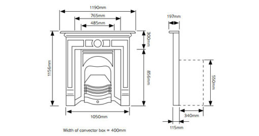 Combination Tiled Convector