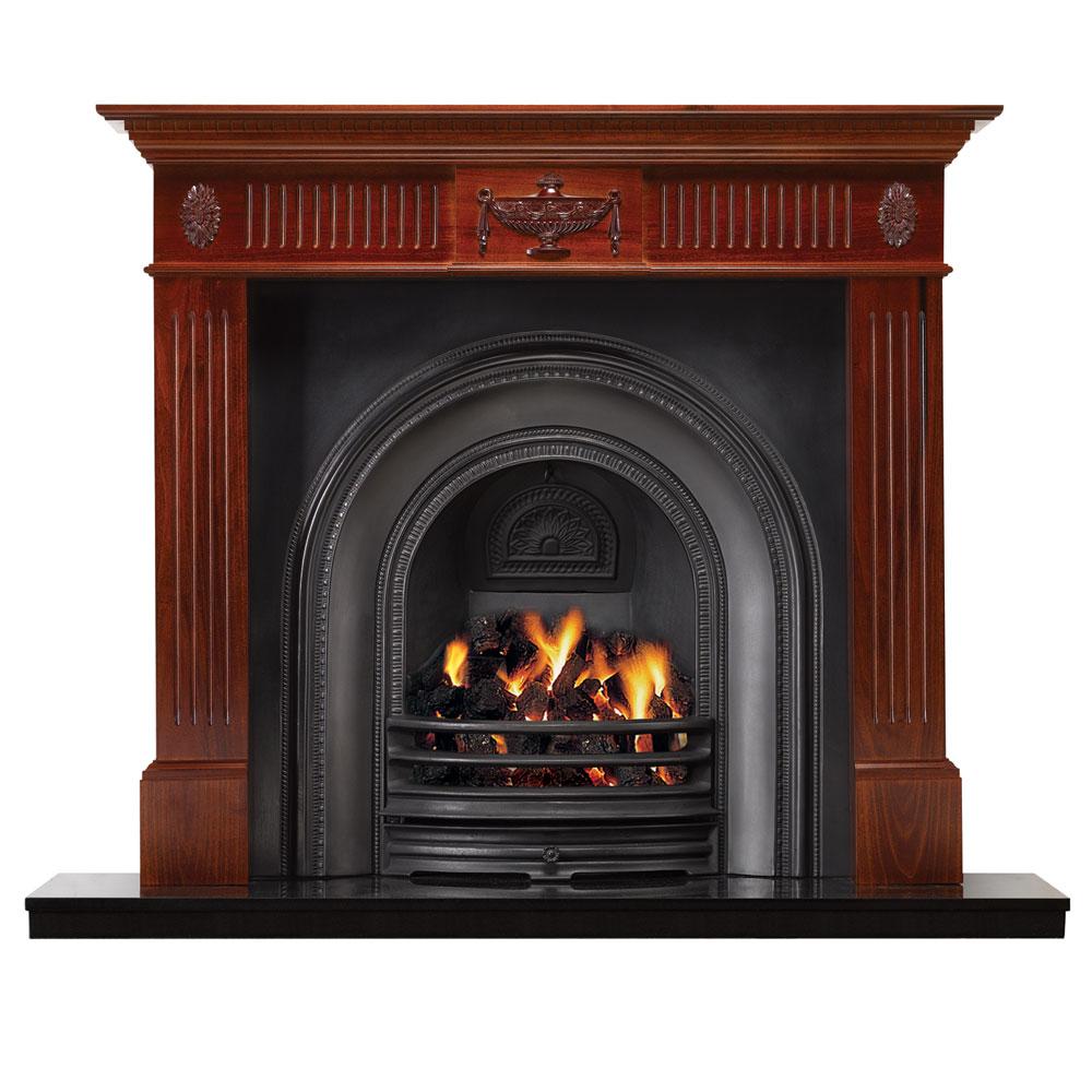 Stovax Adam Wood Mantel 53 W For Sale Victorian