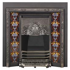 SR002 - Stovax Art Nouveau Tiled Convector Fireplace