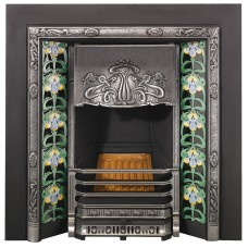 SR005 - Stovax Art Nouveau Tiled Insert Fireplace