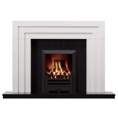 SR033 - Stovax Art Deco Wood Mantel