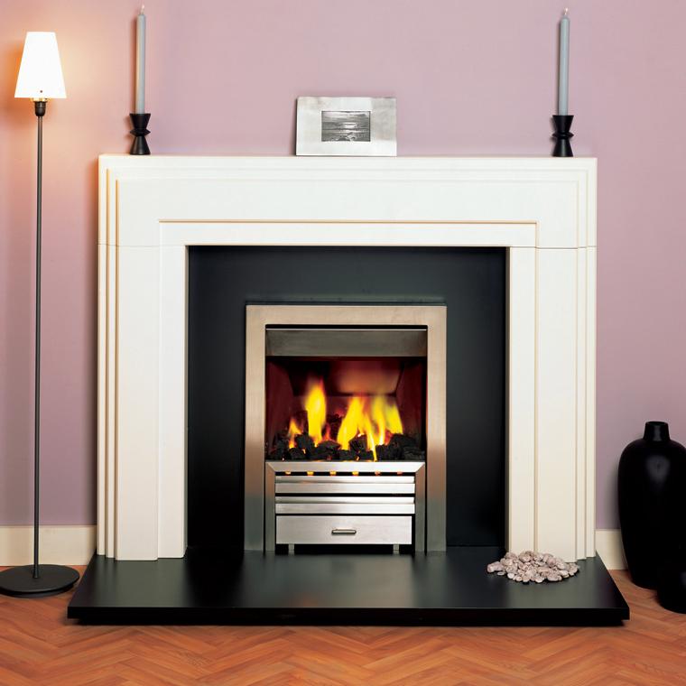 Art Deco Fire Basket Stovax : Stovax art deco wood mantel victorian fireplace store