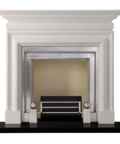 Limestone Stovax Cavendish Bolection Stone Mantel