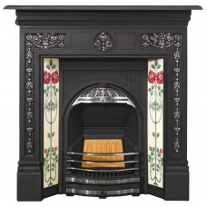 SR006 - Stovax Combination Tiled Insert Fireplace