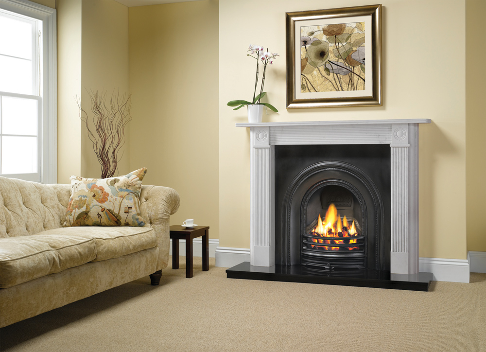 stovax decorative arched insert fireplace store