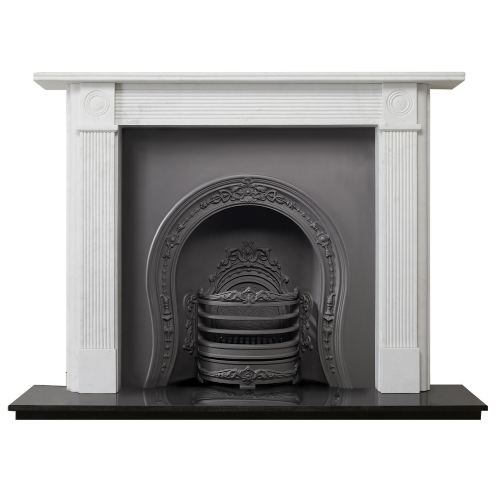 stovax georgian roundel stone mantel from victorian fireplace store
