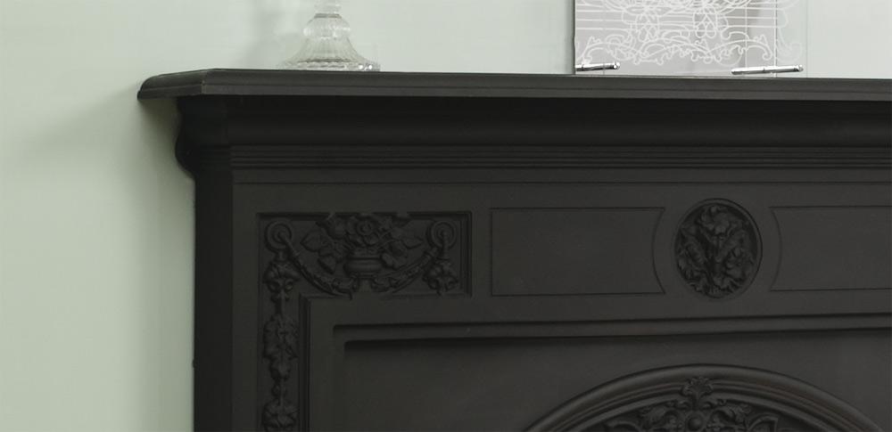 Stovax Victorian Cast Iron Mantel Victorian Fireplace Store