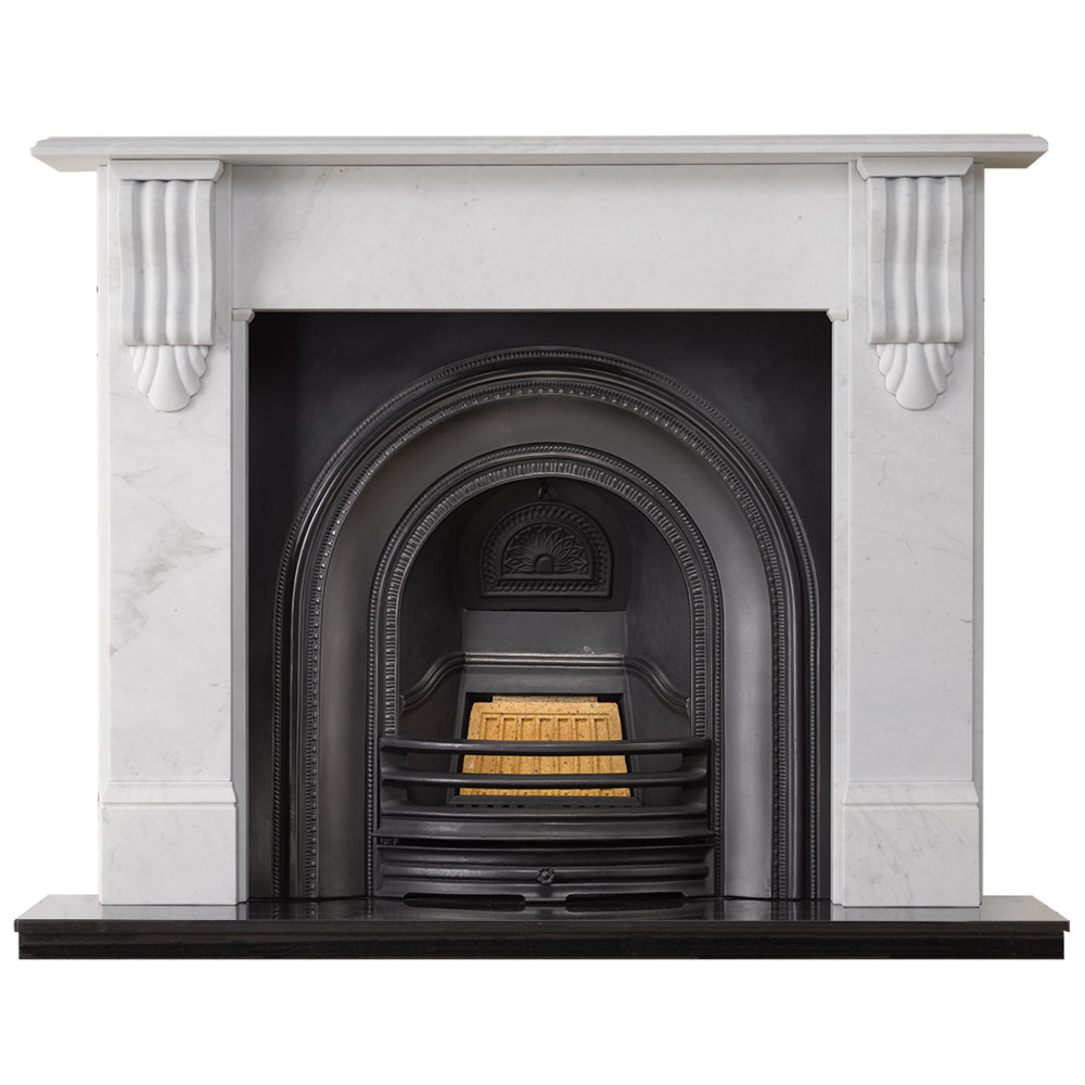 side victoria french cream egyptian marble fireplace sale mantel