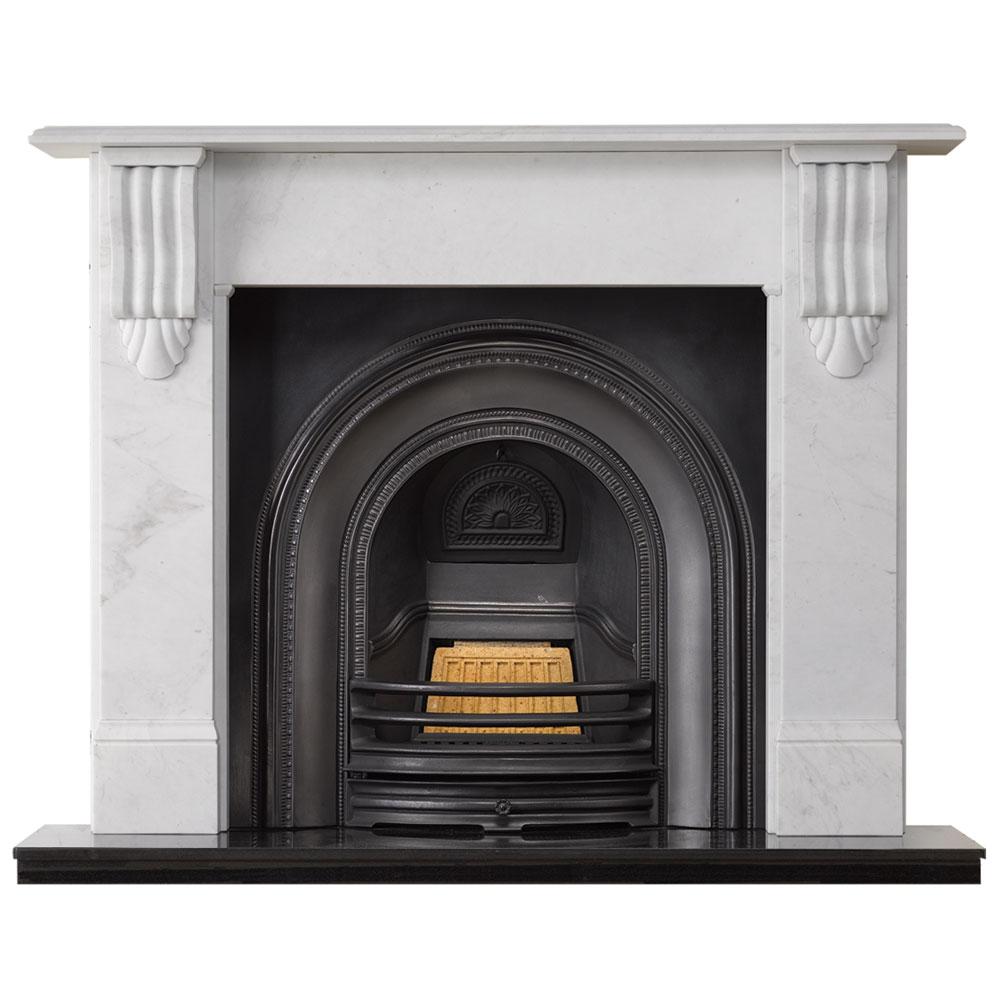 Victorian Fireplace: Stovax Victorian Corbel Stone Mantel