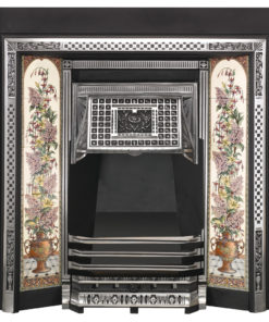 Stovax Victorian Tiled Convector Fireplace Front