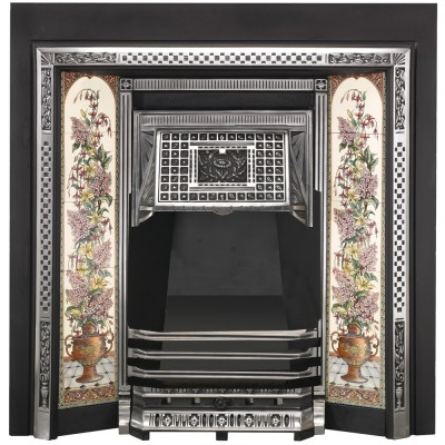 SR001 - Stovax Victorian Tiled Convector Fireplace