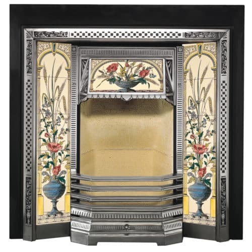 Stovax Victorian Tiled Front Fireplace